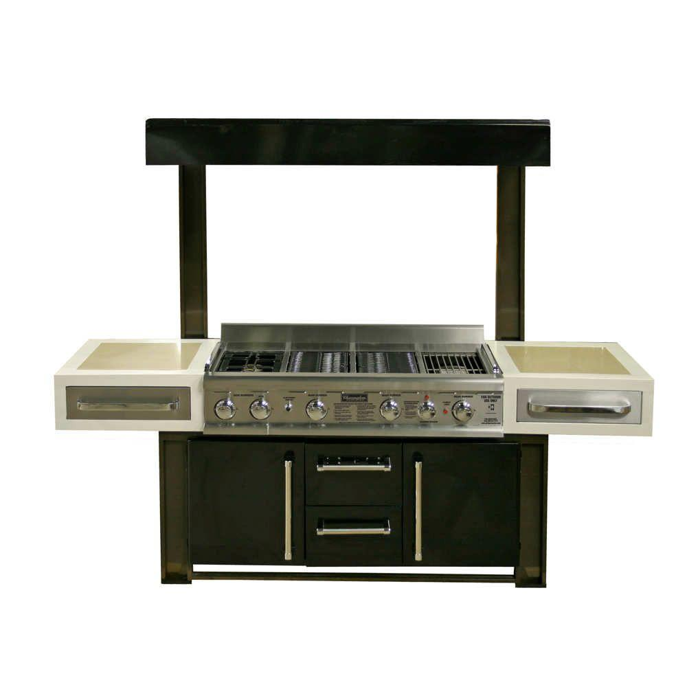 Charmglow Gourmet Luxury Island with Propane Gas Grill-DISCONTINUED