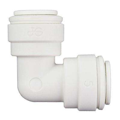 3/8 in. O.D. Polypropylene Push-to-Connect Elbow