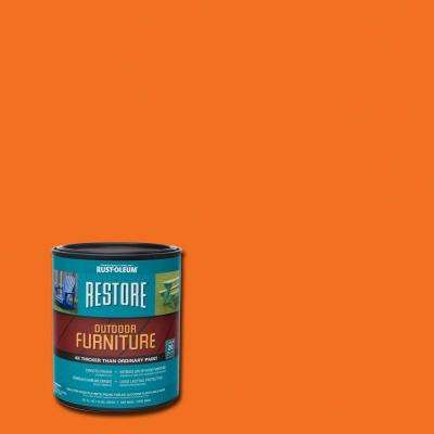 1 qt. Real Orange Outdoor Furniture Coating