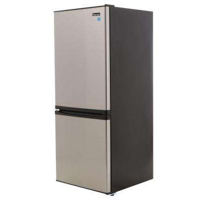 9.2 cu. ft. Bottom Freezer Refrigerator in Stainless