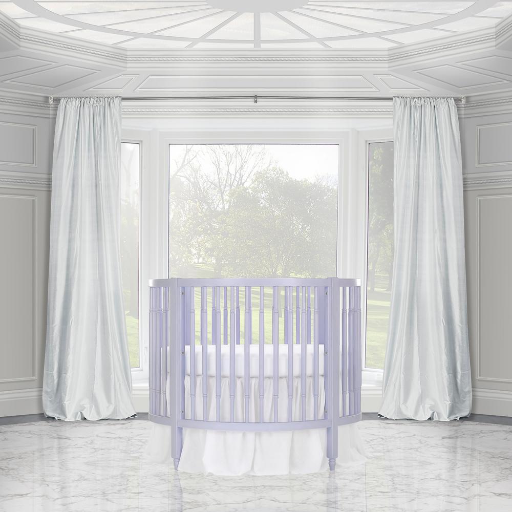 Dream On Me Sophia Posh Lavender Ice Circular Crib 669 Li The Home