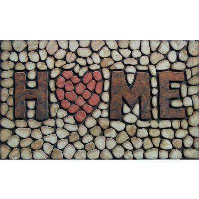 Home Stone 18 in. x 30 in. Door Mat