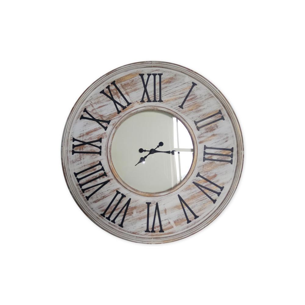Erik 24in Metal Wall Clock