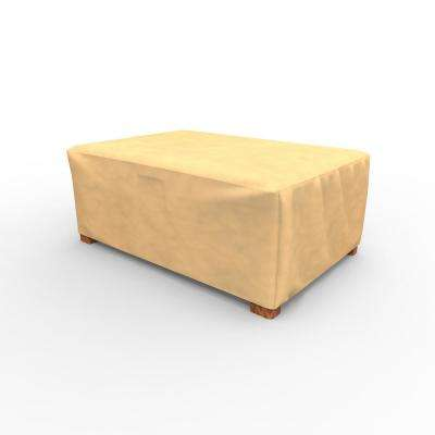 All-Seasons Tan Patio Ottoman Covers