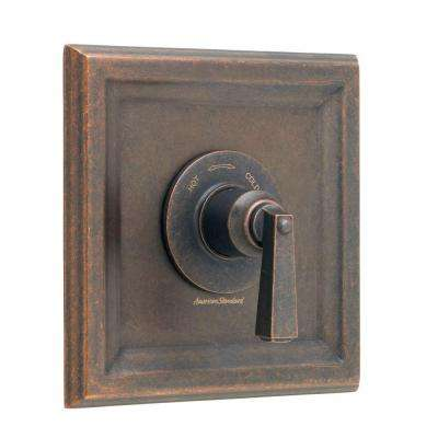 Town Square 1-Handle Central Thermostatic Valve Trim Kit in Oil Rubbed Bronze (Valve Not Included)