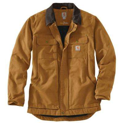 Men's Regular X Large Carhartt Brown Cotton Full Swing Traditional Coat