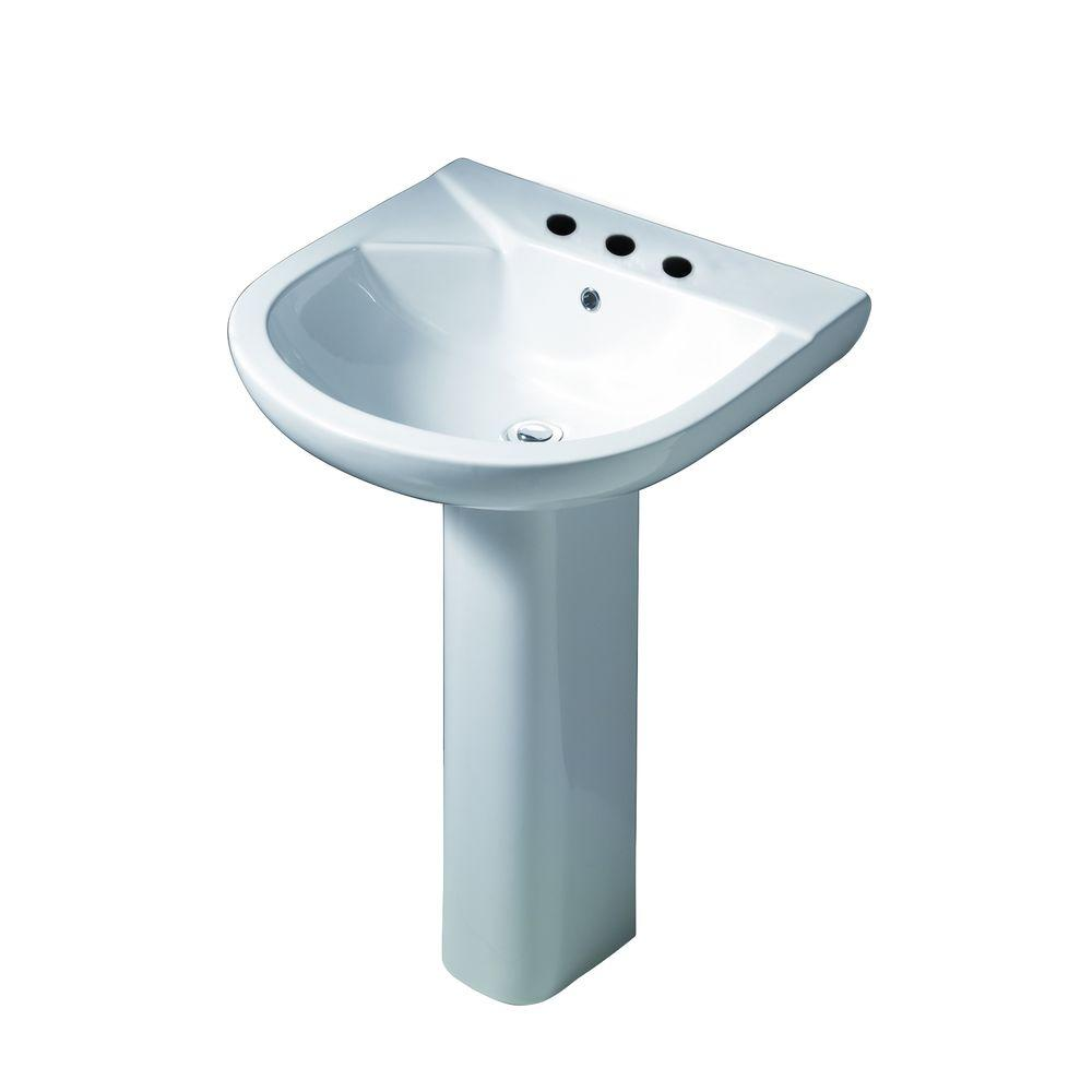 Barclay Products Karla 505 Pedestal Combo Bathroom Sink In