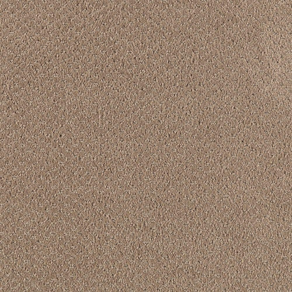 TrafficMASTER Corner Office - Color Safari Beige 12 ft. Carpet