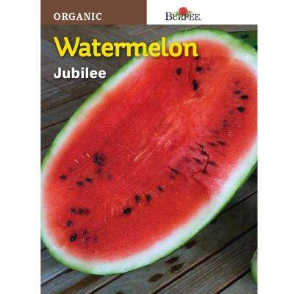 Watermelon Jubilee Organic Seed
