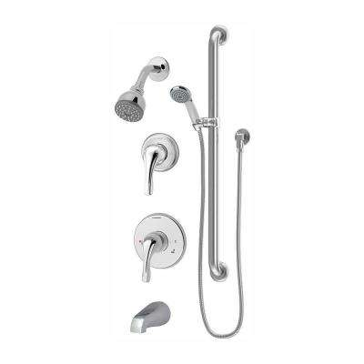 Origins Temptrol Single-Handle 1-Spray Tub and Shower Faucet in Polished Chrome (Valve Included)