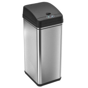 iTouchless 13 Gal. Stainless Steel Motion Sensing Touchless Trash Can with Deodorizing... by iTouchless