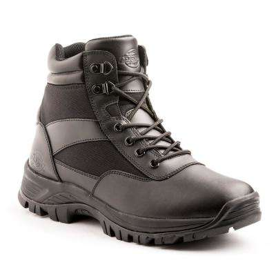 Javelin 6 in. Men Size 13 Black ST Leather Work Boot