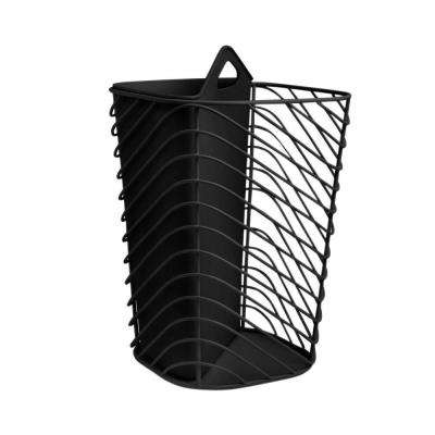 Couplet 2 gal. Wire Plastic Waste Basket