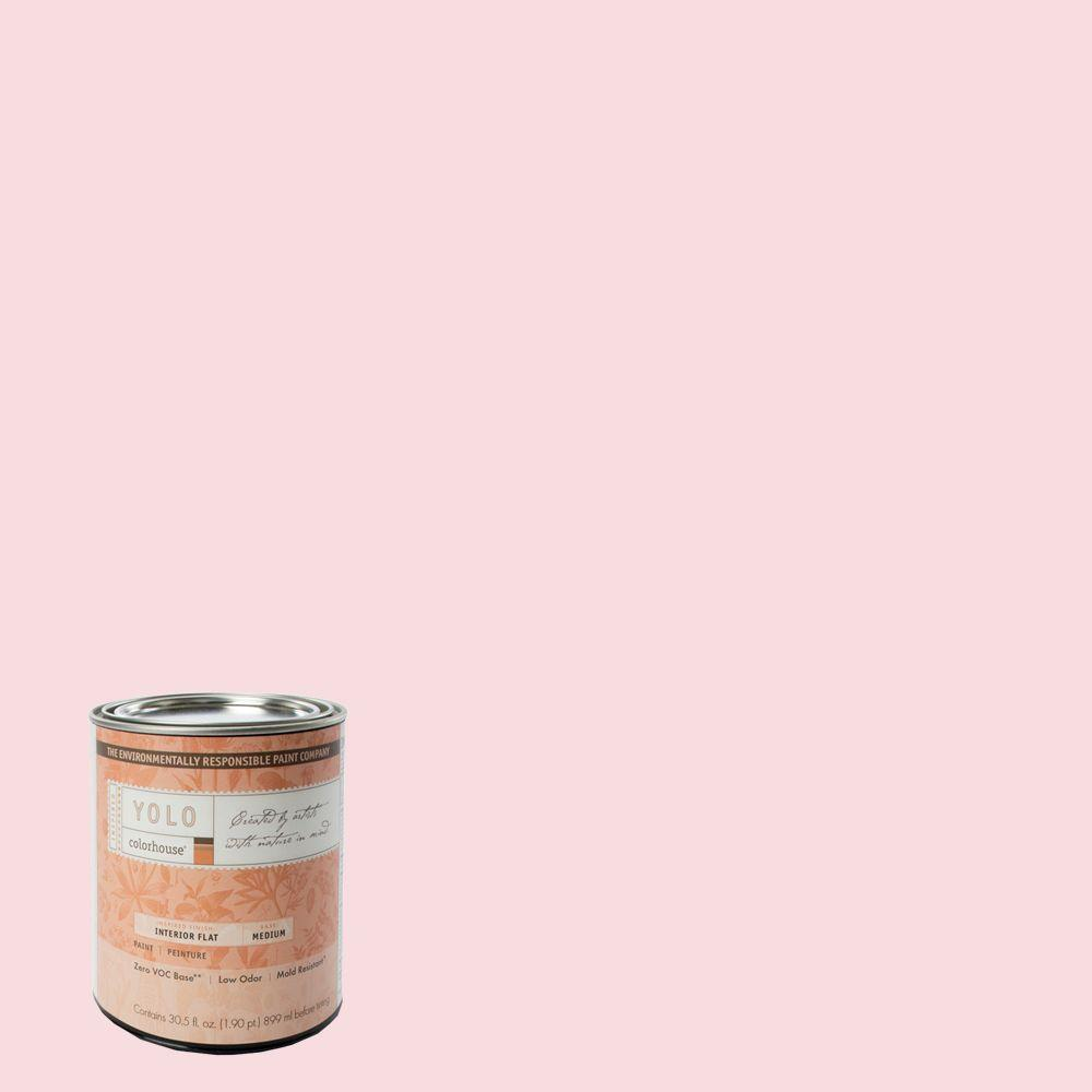 YOLO Colorhouse 1-Qt. Sprout .06 Flat Interior Paint-DISCONTINUED