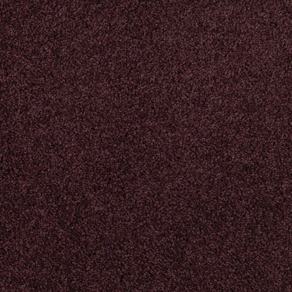 Stunning - Color Deep Grape 12 ft. Carpet