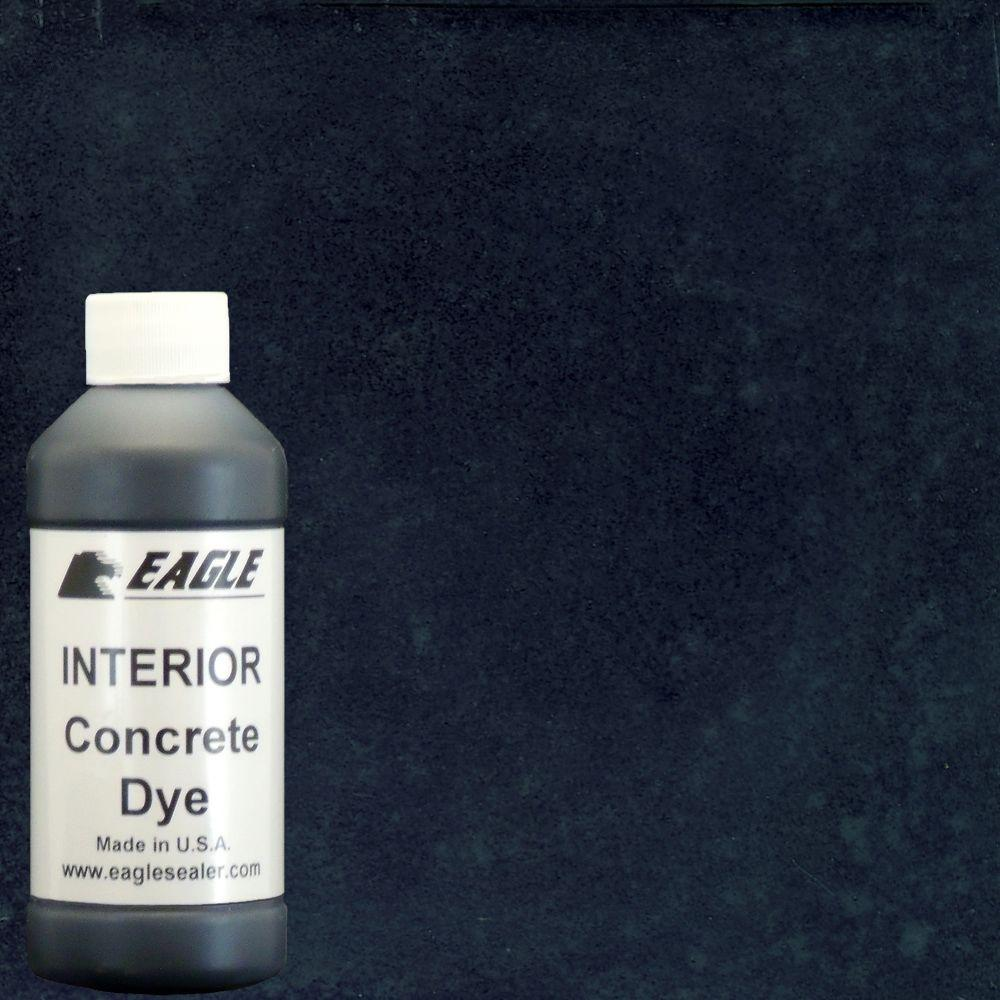 Eagle 1 gal. Black Orchid Interior Concrete Dye Stain Makes with Water from 8 oz. Concentrate