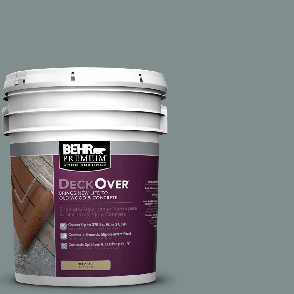 BEHR Premium DeckOver 5 gal. #SC-125 Stonehedge Wood and Concrete Coating