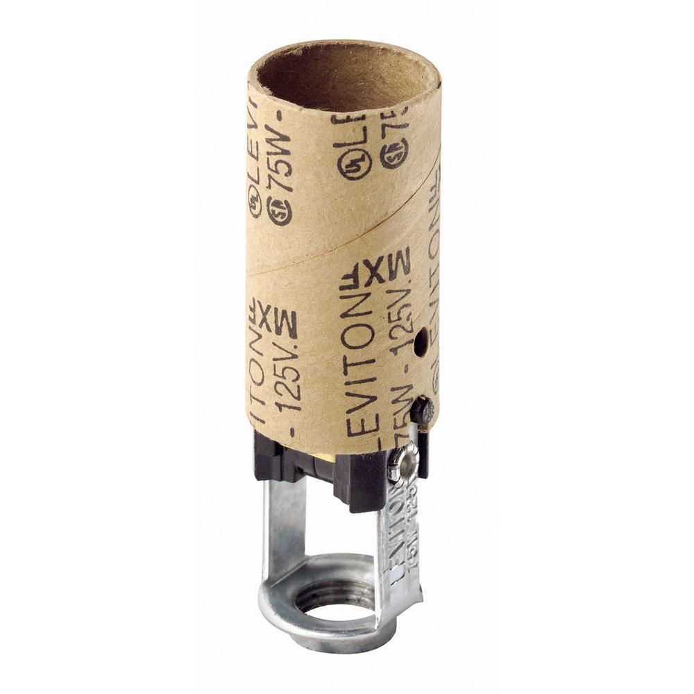 Leviton 75W Candelabra Base One-Piece Single Circuit Keyl...