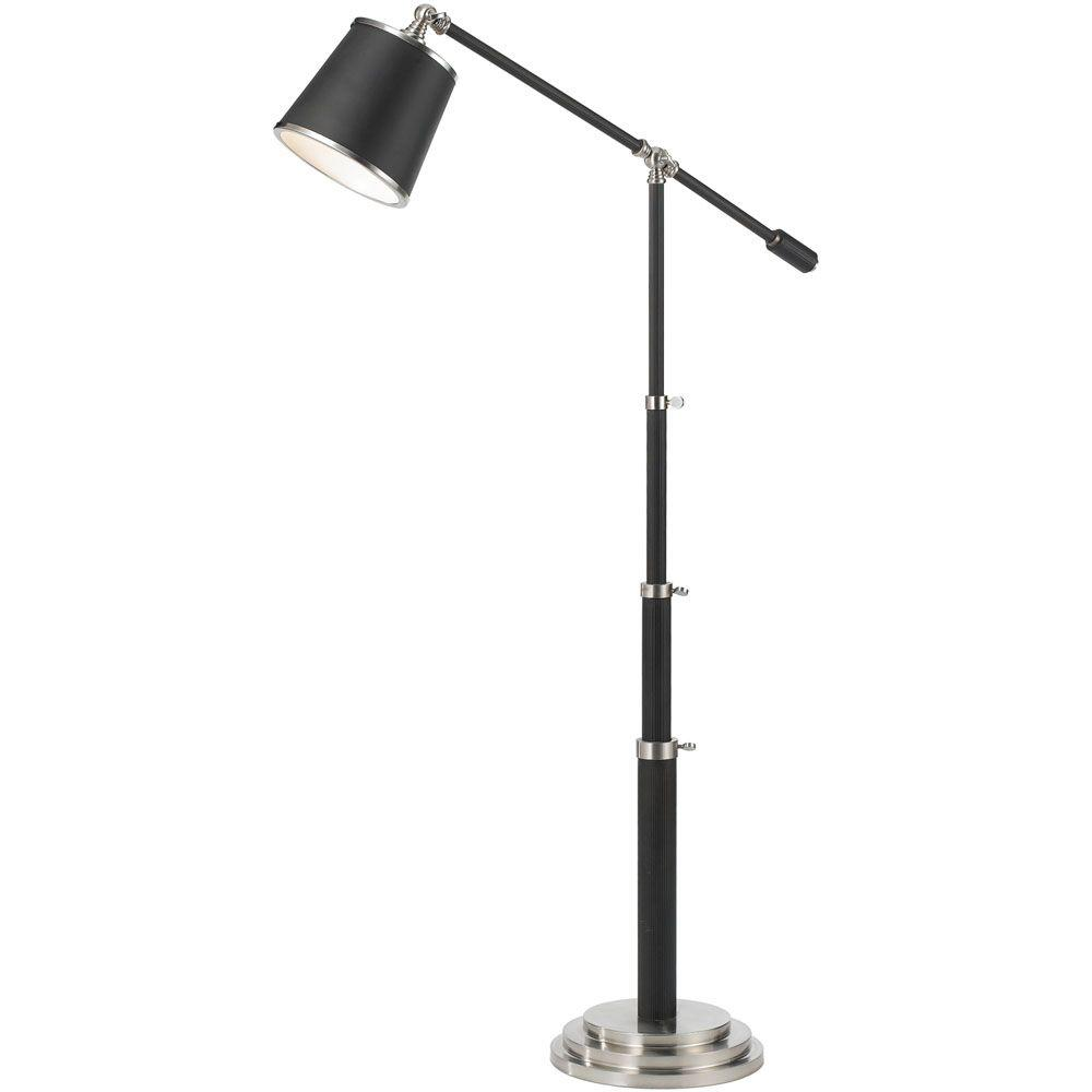 Af lighting 7912 60 in bronze adjustable floor lamp