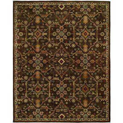 Empire Chocolate 2 ft. x 3 ft. Area Rug