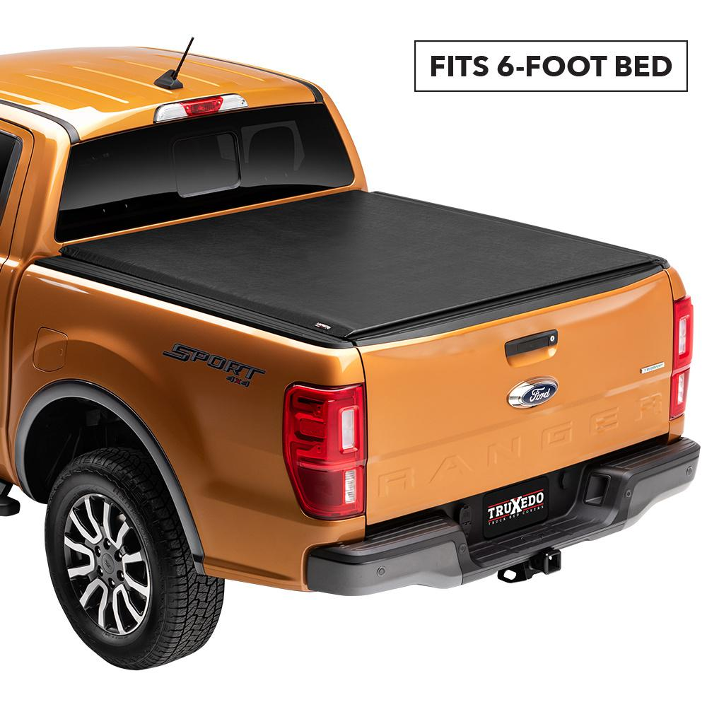 Truxedo Lo Pro 19 Ford Ranger 6 Ft Bed Tonneau Cover 531101 The