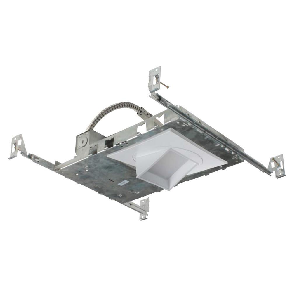 nicor nicor 5 in white 2700k led recessed adjustable square