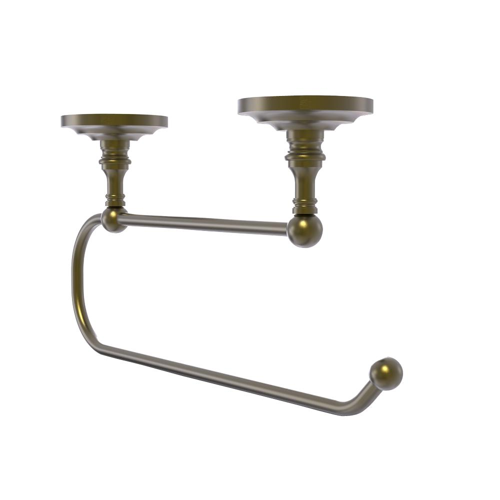 Allied Brass Prestige Que New Under Cabinet Double Post Toilet Paper