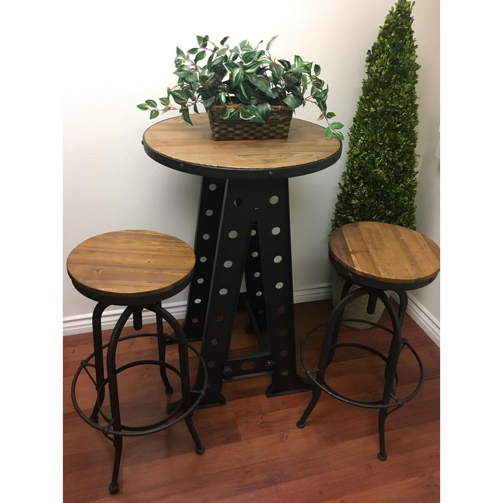 wooden swivel bar stools. Black Reclaimed Wood Industrial Swivel Bar Stool Wooden Stools L