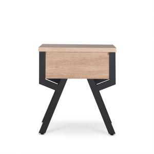Kalina Weathered Light Oak End Table