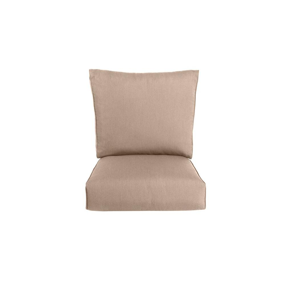 Brown Jordan Highland Replacement Outdoor Motion Lounge Chair Cushion in Sparrow
