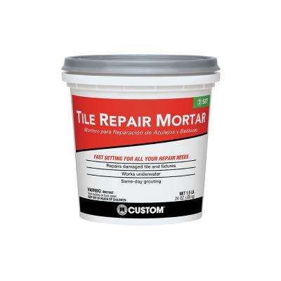 1.5 lb. White Tile Repair Mortar