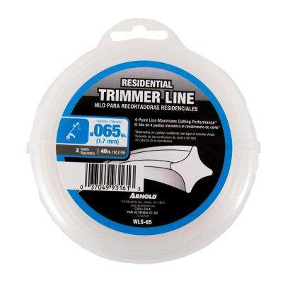 40 ft. Residential 0.065 in. Trimmer Line for Most Gas and Electric Trimmers
