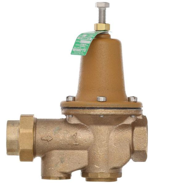 1 in. Lead-Free Brass FPT x FPT Water Pressure Reducing Valve