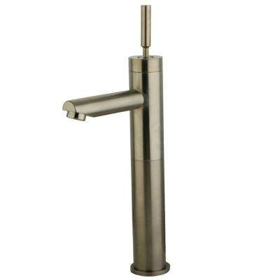 Concord Single Hole Single-Handle Bathroom Faucet in Brushed Nickel