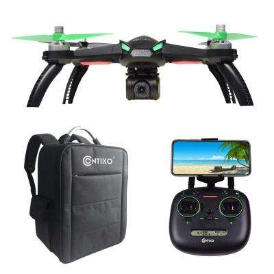 F20 RC Remote App Controlled Quadcopter Drone : 1080p HD WiFi Camera, Follow Me, Auto Hover, Altitude Hold, GPS