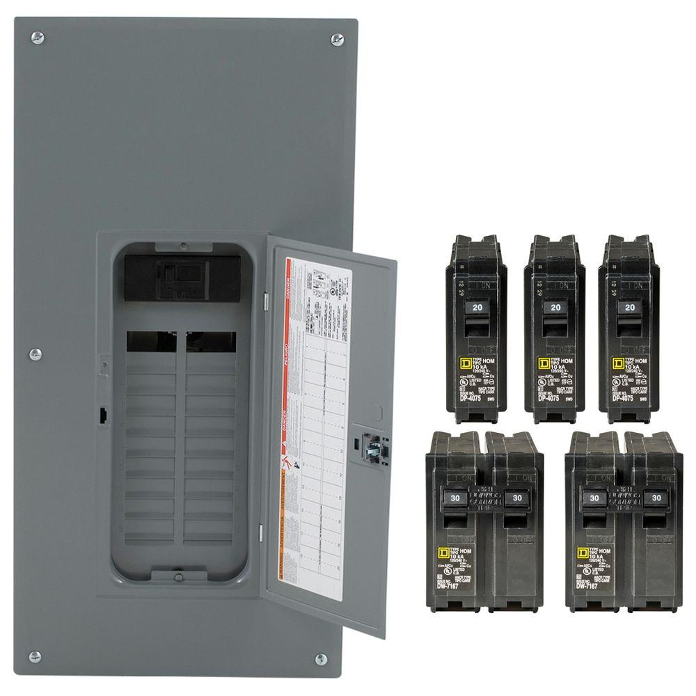 200amp 20space 40circuit Outdoor Main Breaker Circuit Breaker Panel