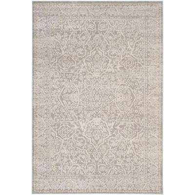 Princeton Gray/Beige 4 ft. x 6 ft. Area Rug