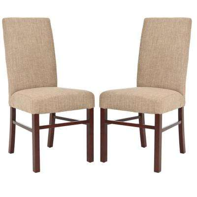 Olive Beige Dining Chair (Set of 2)
