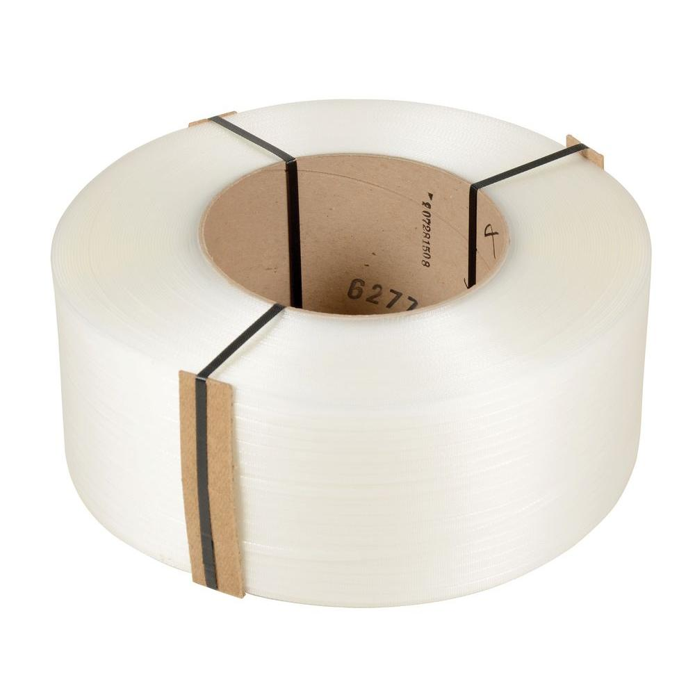 12,900 ft. Roll 9 in. x 8 in. Core Clear Poly