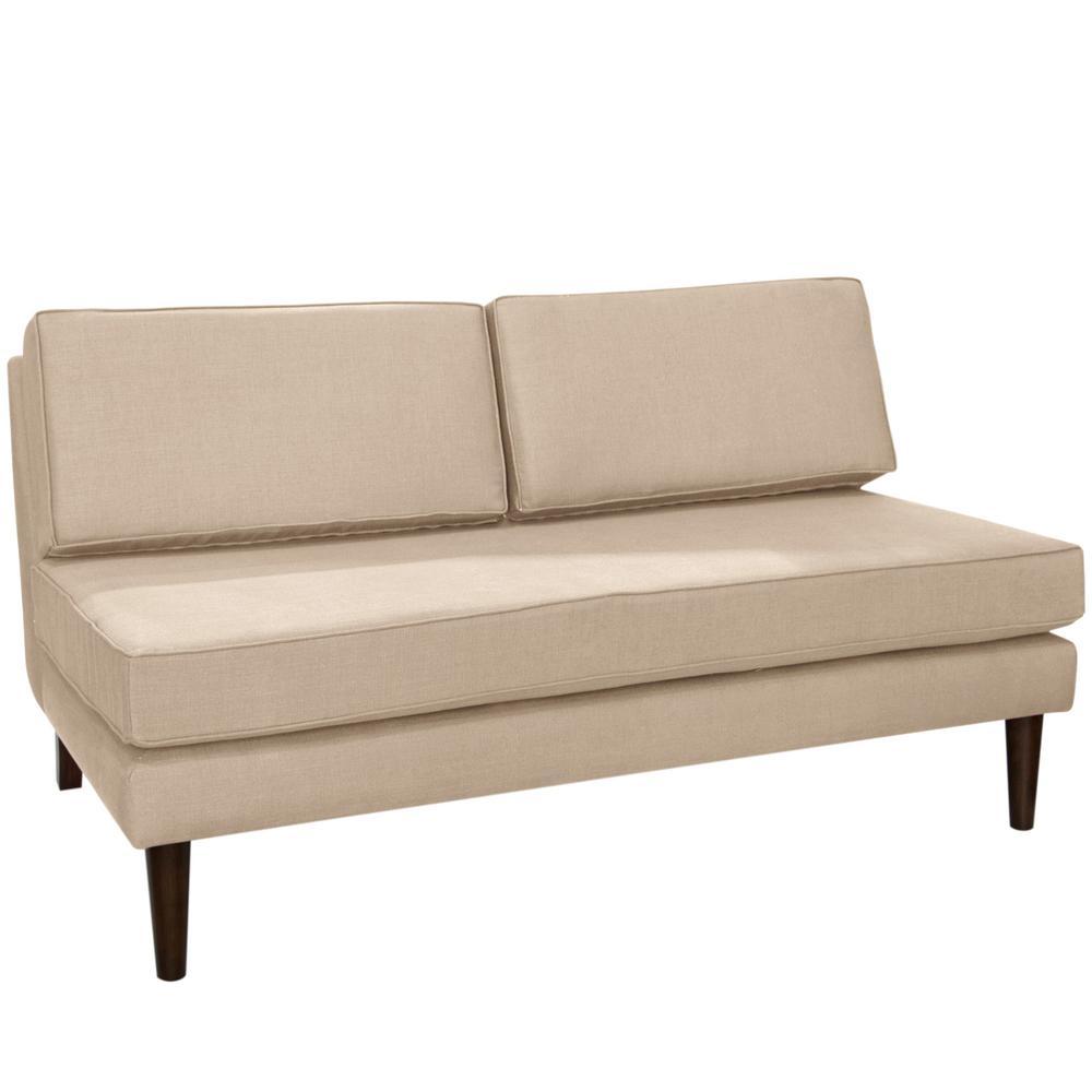 Klein Ricepaper Armless Chaise
