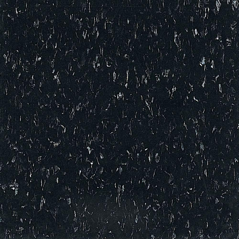 Armstrong standard excelon imperial texture 12 in x 12 in for Black vinyl floor tiles