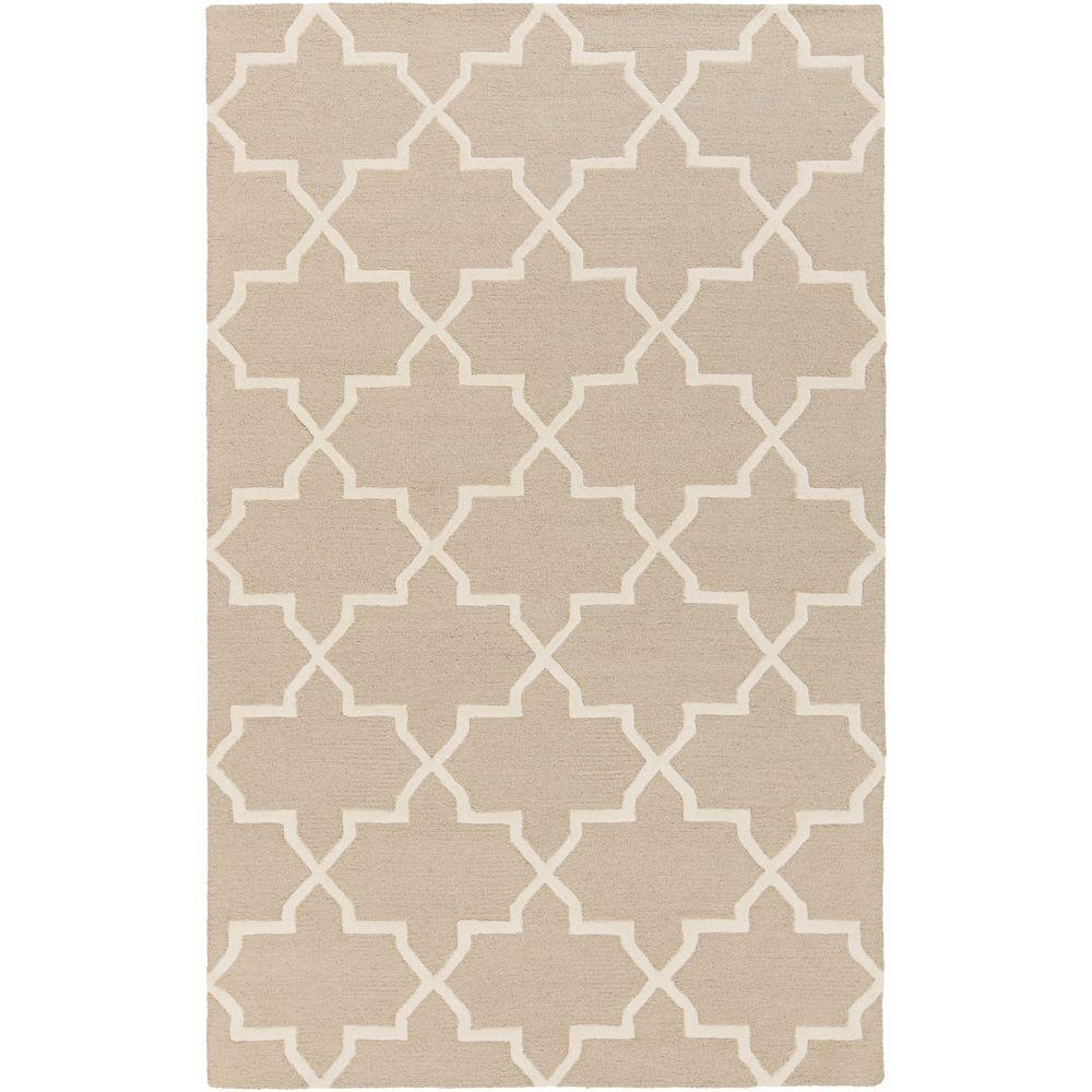 Pollack Keely Gray 5 ft. x 8 ft. Indoor Area Rug