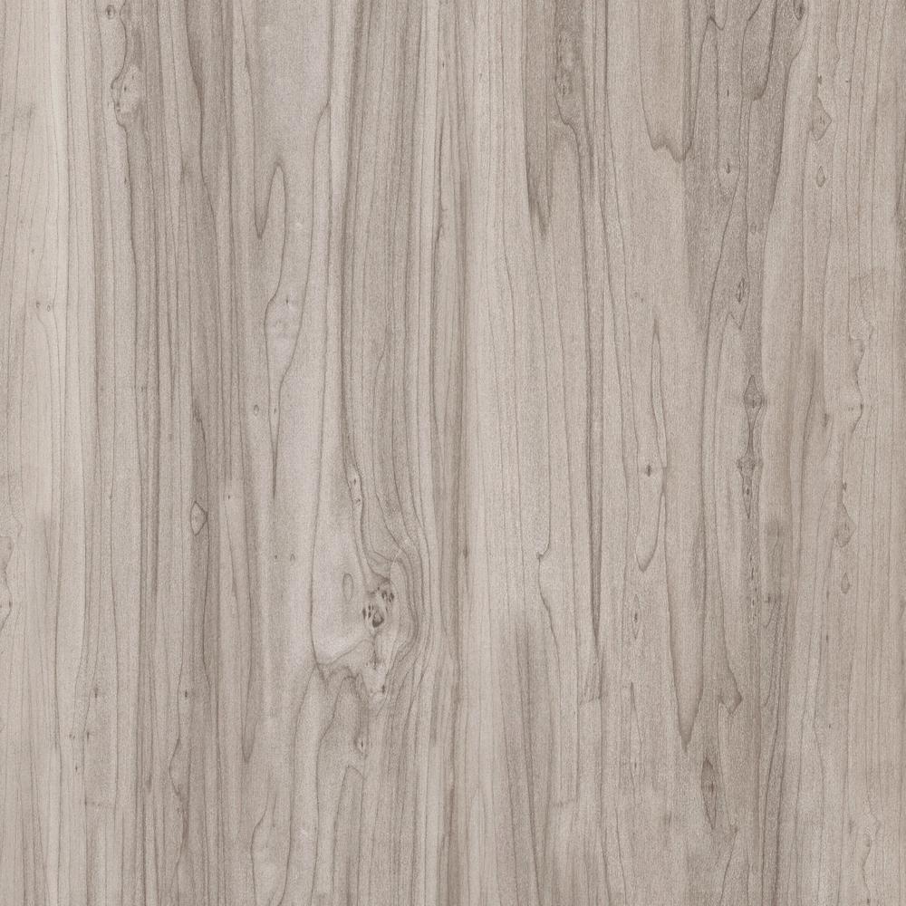 TrafficMASTER Take Home Sample - Allure Plus Grey Maple Resilient Vinyl Flooring - 4 in. x 4 in.