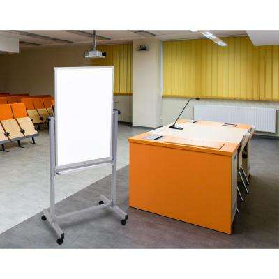 24 in. X 36 in. Mobile Board, White