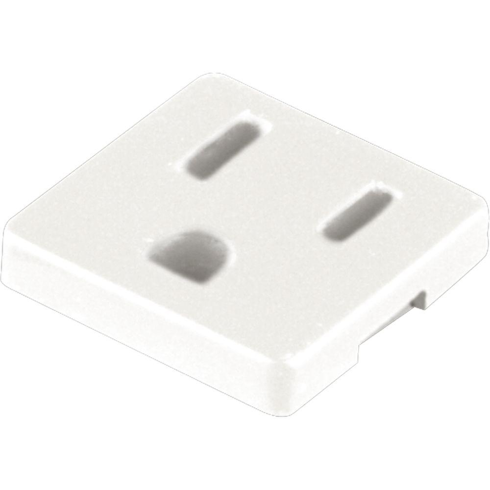 Progress Lighting Grounded Convenience Outlet Accessory