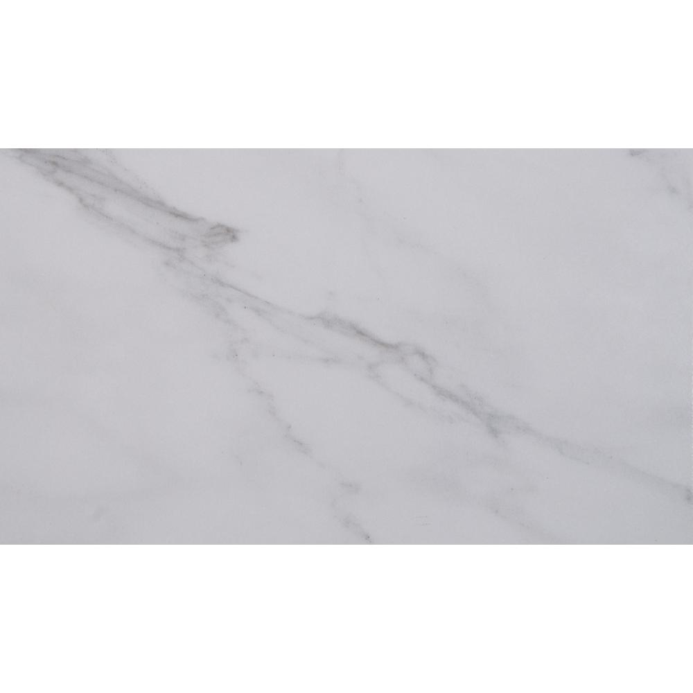 Aspen Gris 11 in. x 18 in. Glazed Ceramic Floor and