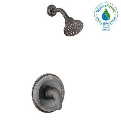 Colony Pro 1-Handle 1-Spray Shower Faucet Trim Kit in Legacy Bronze (Valve Not Included)
