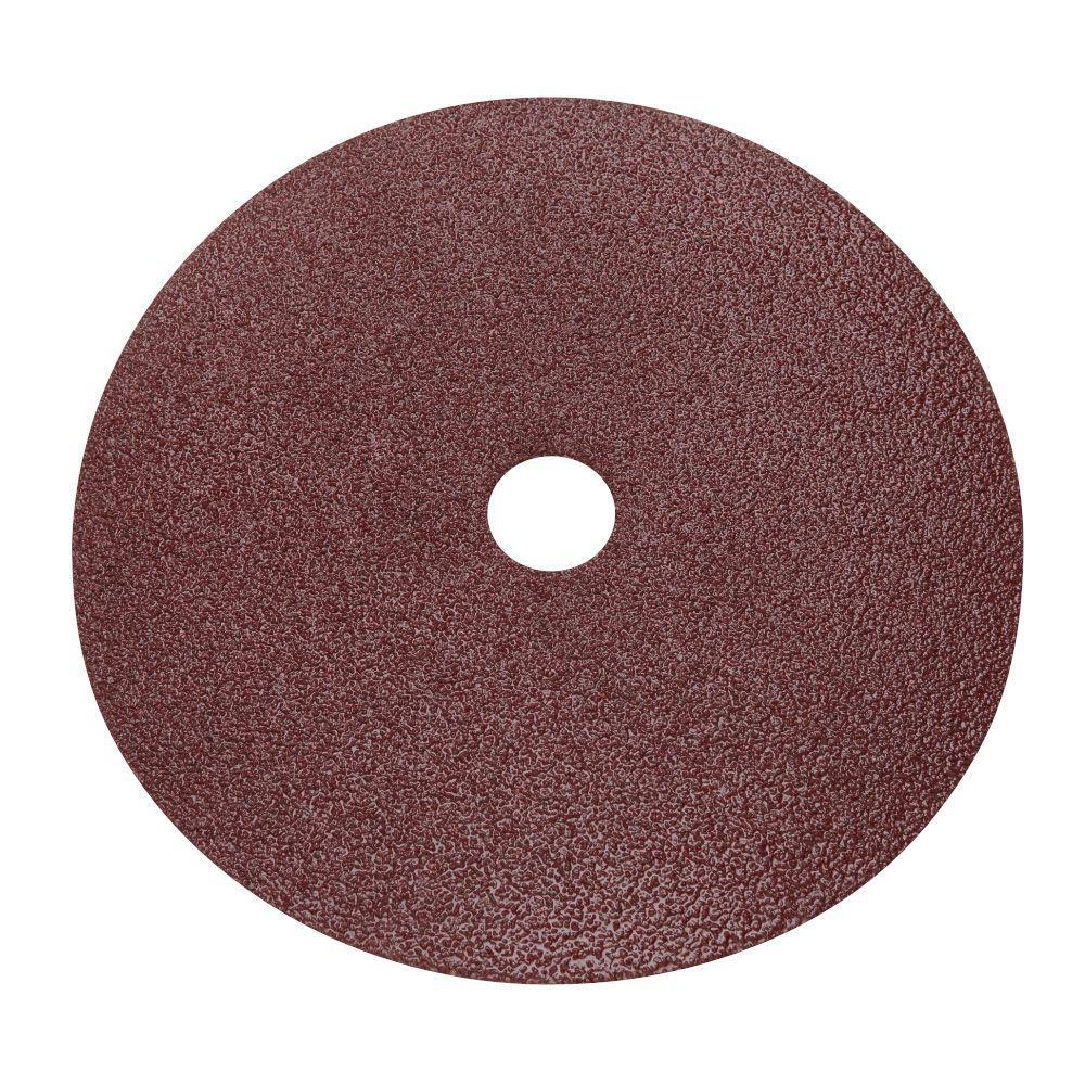 7 in. 50-Grit Sanding Disc (25-Pack)