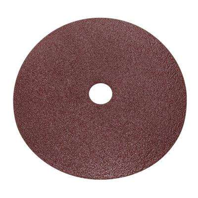 9 in. 16 Grit Sanding Disc (25-Pack)