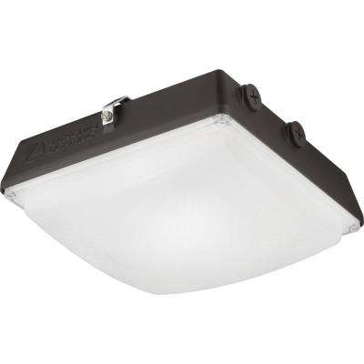 CNY Bronze Outdoor Integrated LED Canopy Area Light